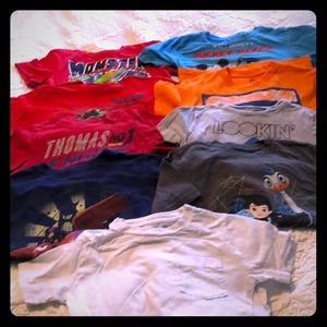 Other - Bundle of 9 short sleeve boys size 4//4t t-shirts.